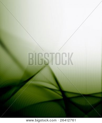 abstract green movement background