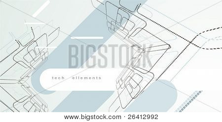 wireframe tech design ellements, abstract background just ad your text (1)