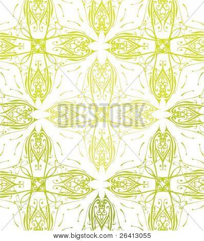 retro floral pattern,vector illustration