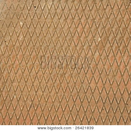 textured rusty meta plate