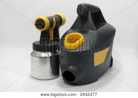 Sprayer With Compressor