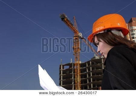 architect on building area