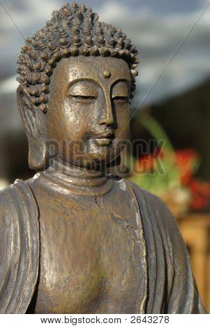 Bronze Buddha.