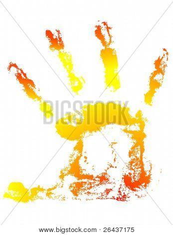 Sunny hand