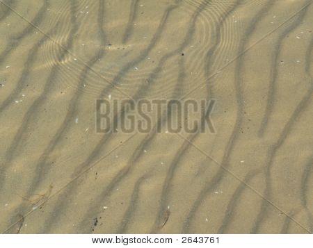 Sand Ridges Under Water