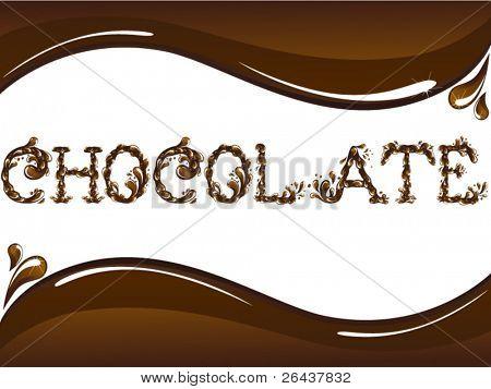 Chocolate card