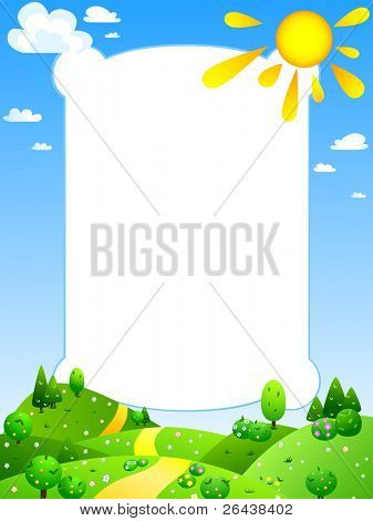 VECTOR Colorful Summer Poster