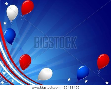 Vector of independence day celebration card