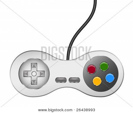 Retro controller (joystick) with usb cable