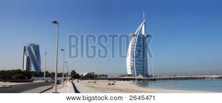 Dubai Landmark, Burj Al Arab Jumeirah-Beach