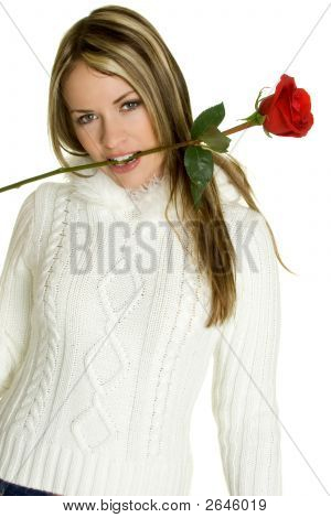 Romantic Rose Woman