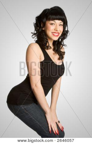 Lovley Fifties Retro Girl