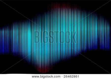 abstrakt blau bunt vektor vertikal gestreiften Hintergrund Muster mit blures