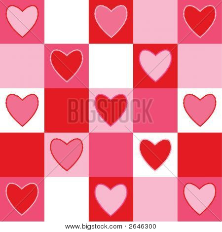 Checkerd Hearts
