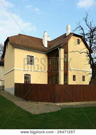 "Native house of  the Sigmund Freud - city ""Pribor""  state -   Czech republic - Europe"