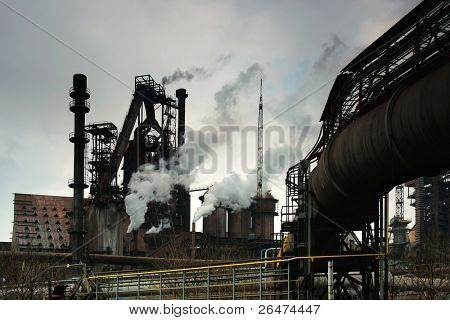 Ecology and behavior of human in heavy of industry