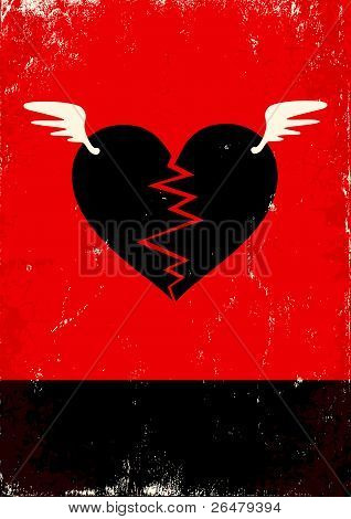 Broken Heart With Wings
