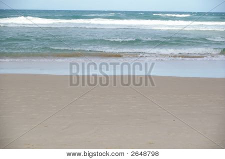 Soft Grey Beach