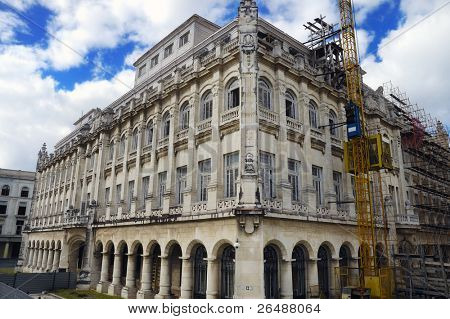 A view of Presidential palace building in Havana, now revolution museum