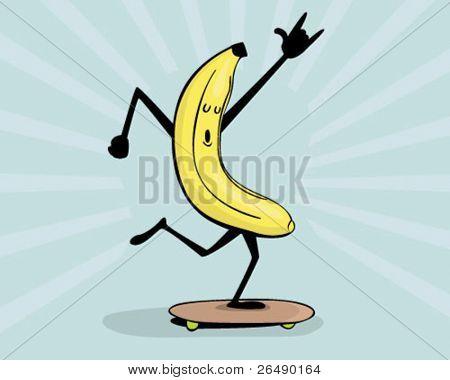banana with attitude.