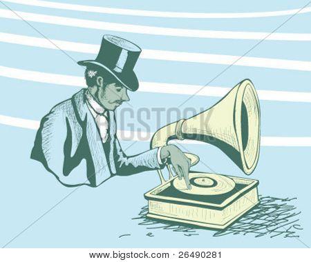 disk jockey.