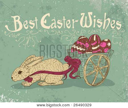 Mejores deseos de Pascua.