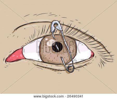 eye pin.