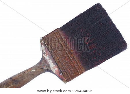 old painting brush