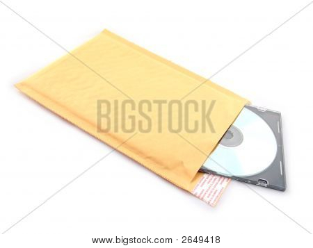 Bubble Mailer With Cd