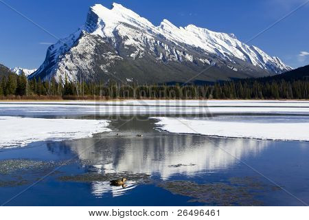 Mount Rundle Reflections