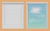 Window Blinds Mockup Set. Vector Realistic Illustration Windows With Open And Close Horizontal Blind poster