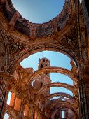 Ruins Of An Old Church Destroyed During The Spanish Civil War In Belchite Saragossa Spain poster