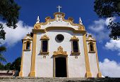 Beautiful Portuguese Baroque church Brazil