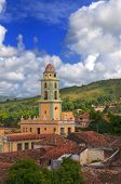 foto of landscapes beautiful  - A view of trinidad architecture and cuban landscape - JPG