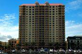 Condominium Building In The Convention Center Area, Tampa, Florida, Usa