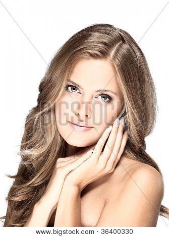 fashion portrait of a woman