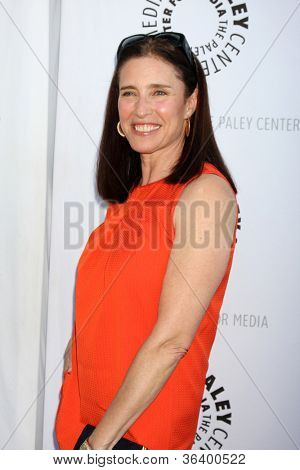 LOS ANGELES - JUN 7:  Mimi Rogers arrivimg at the Debbie Reynolds Hollywood Memorabilia Collection Auction & Auction Preview at Paley Center For Media on June 7, 2011 in Beverly Hills, CA