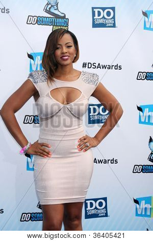 LOS ANGELES - AUG 19:  Malaysia Pargo arrives at the 2012 Do Something Awards at Barker Hanger on August 19, 2012 in Santa Monica, CA