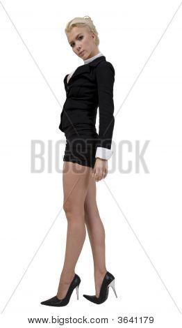 Bela dama de pé