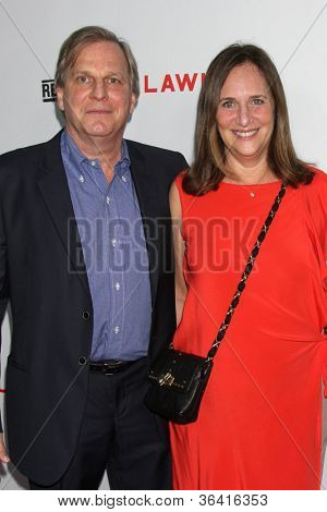 """LOS ANGELES - AUG 22:  Douglas Wick, Lucy Fisher arrives at the """"Lawless"""" LA Premiere at ArcLight Theaters on August 22, 2012 in Los Angeles, CA"""