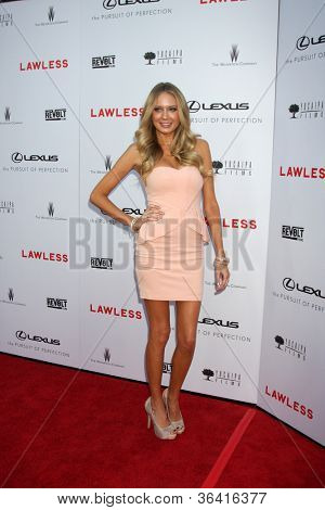 LOS ANGELES - AUG 22:  Melissa Ordway arrives at the