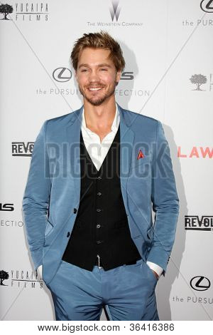 """LOS ANGELES - AUG 22:  Chad Michael Murray arrives at the """"Lawless"""" LA Premiere at ArcLight Theaters on August 22, 2012 in Los Angeles, CA"""