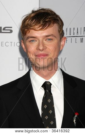 """LOS ANGELES - AUG 22:  Dane DeHaan arrives at the """"Lawless"""" LA Premiere at ArcLight Theaters on August 22, 2012 in Los Angeles, CA"""