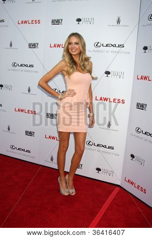 "LOS ANGELES - AUG 22:  Melissa Ordway arrives at the ""Lawless"" LA Premiere at ArcLight Theaters on August 22, 2012 in Los Angeles, CA"