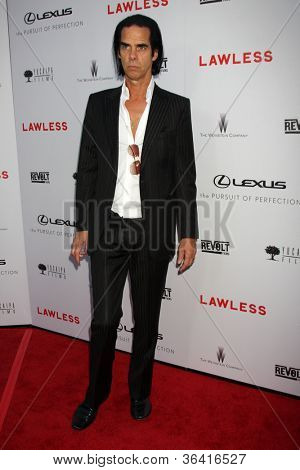 LOS ANGELES - AUG 22:  Nick Cave arrives at the