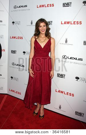 LOS ANGELES - AUG 22:  Anna Wood arrives at the