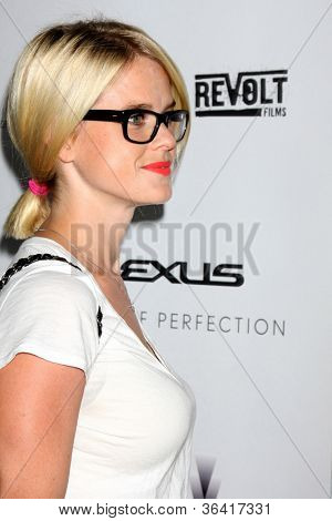 LOS ANGELES - AUG 22:  Alice Eve arrives at the