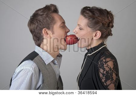 Apple for two