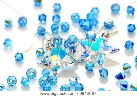 Swarovski Earrings And Beads