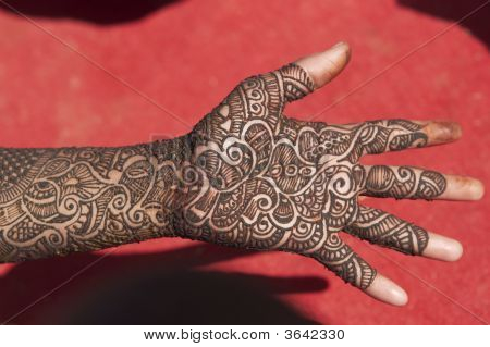 Decorated Hand